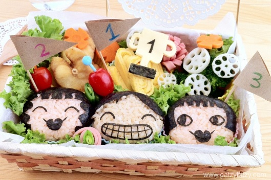 olympics, london, olympics 2012, bento, obento, cute food, food, food art, cute, winner, champion, home cook, kids, art